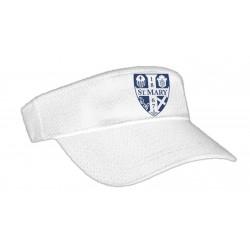 Jersey Mesh Visor (White)