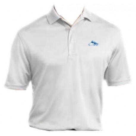 e05e2b3b Men's Sport-Tek Dri-Mesh Pro Sport Shirt (White) - Promo Designs